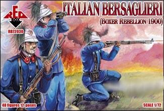Red Box Figures  1/72 Italian Bersaglieri Boxer Rebellion 1900 (48)
