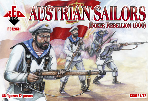 Red Box Figures  1/72 Austrian Sailors Boxer Rebellion 1900 (48)