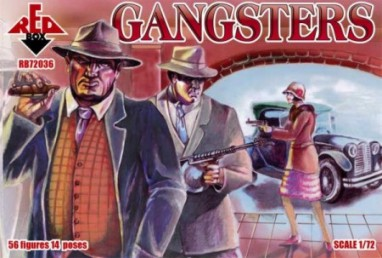 Red Box Figures  1/72 Gangsters (56)