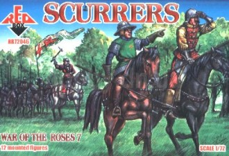 Red Box Figures  1/72 Wars of the Roses: Scurrers (12 Mtd)