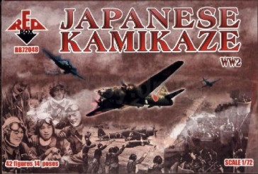 Red Box Figures  1/72 WWII Japanese Kamikaze (42)