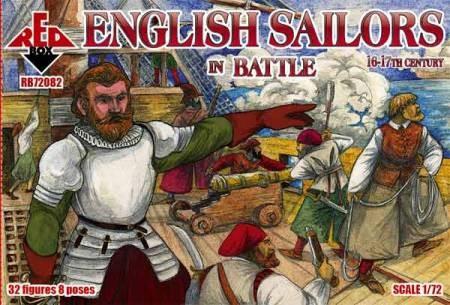 Red Box Figures  1/72 English Sailors in Battle XVI-XVII Century (32)
