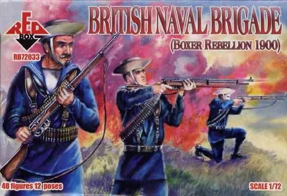Red Box Figures  1/72 British Naval Brigade Boxer Rebellion 1900 (48)