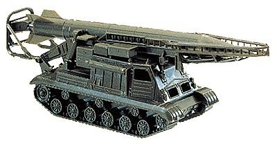 Image 0 of Herpa Minitanks 1/87 Scud-A Missile Launcher Tank w/Missile