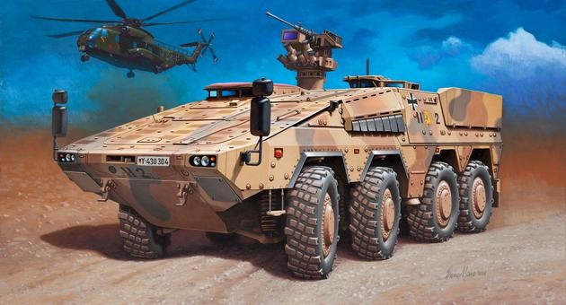 Revell 1/72 GTK Boxer (GTFzA1) Vehicle