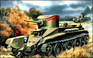 Image 0 of Unimodels Plastic Model Kit 1/72 BT2 Russian Tank