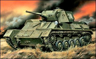 Image 0 of Unimodels Plastic Model Kit 1/72 T70M Russian Light Tank