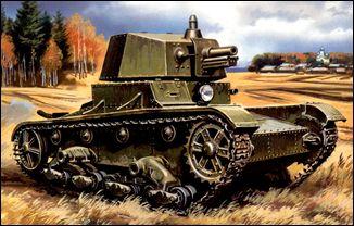 Image 0 of Unimodels Plastic Model Kit 1/72 T26 WWII Russian Tank w/A43 Turret (D)