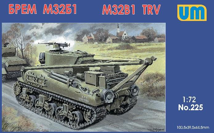 Unimodels Plastic Model Kit 1/72 M32B1 Tank Recovery Vehicle