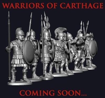 Victrix LTD Figures 28mm Warriors of Carthage (60)