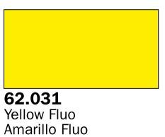 Vallejo Paints 60ml Bottle Fluorescent Yellow Premium