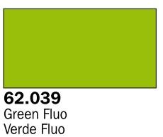 Vallejo Paints 60ml Bottle Fluorescent Green Premium