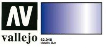 Vallejo Paints 60ml Bottle Metallic Blue Premium