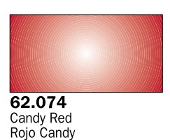 Image 0 of Vallejo Paints 60ml Bottle Candy Red Premium