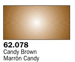 Vallejo Paints 60ml Bottle Candy Brown Premium