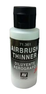 Vallejo Paints 60ml Bottle Airbrush Thinner