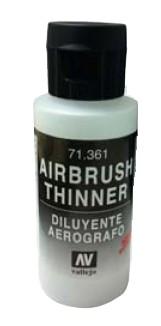 Image 0 of Vallejo Paints 60ml Bottle Airbrush Thinner