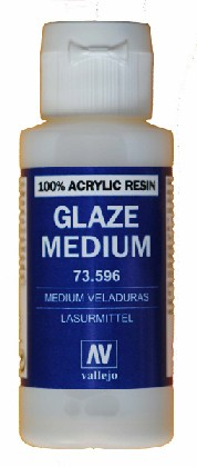 Vallejo Paints 60ml Bottle Glaze Medium