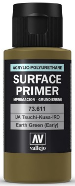 Vallejo Paints60ml Bottle IJA Tutikusa-IRO Surface Primer