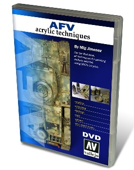 Vallejo Paints AFV Acrylic Techniques (NTSC) DVD