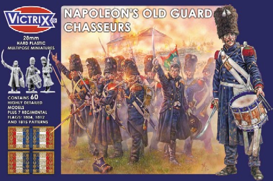Victrix LTD Figures 28mm Napoleon's Old Guard Chasseurs (60)