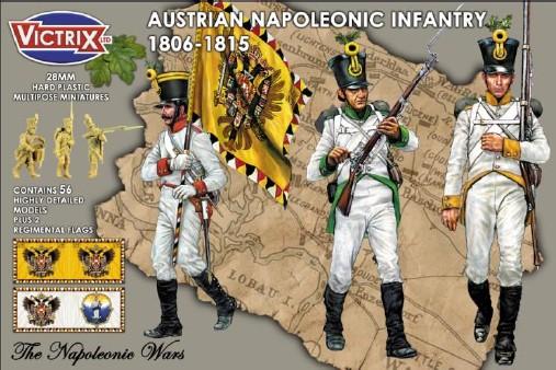 Victrix LTD Figures 28mm Austrian Napoleonic Infantry 1806-1815 (56)