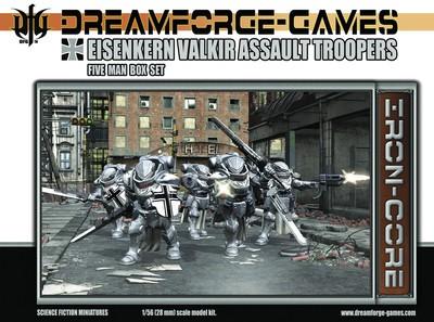 Image 0 of Wargames Factory 28mm Dream Forge Games: Eisenkern Valkir Assault Troopers (5)