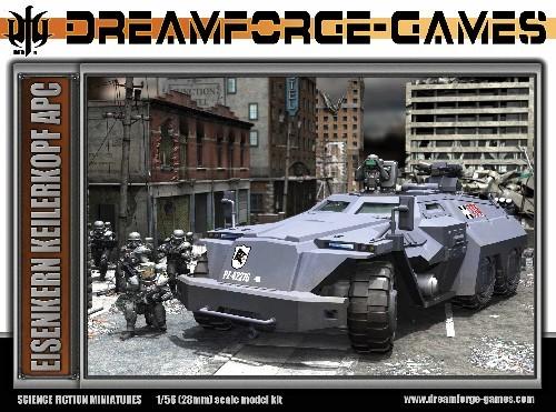Image 0 of Wargames Factory 28mm Dream forge Games: Eisenkern Keilerkopf APC Multi-Part Veh