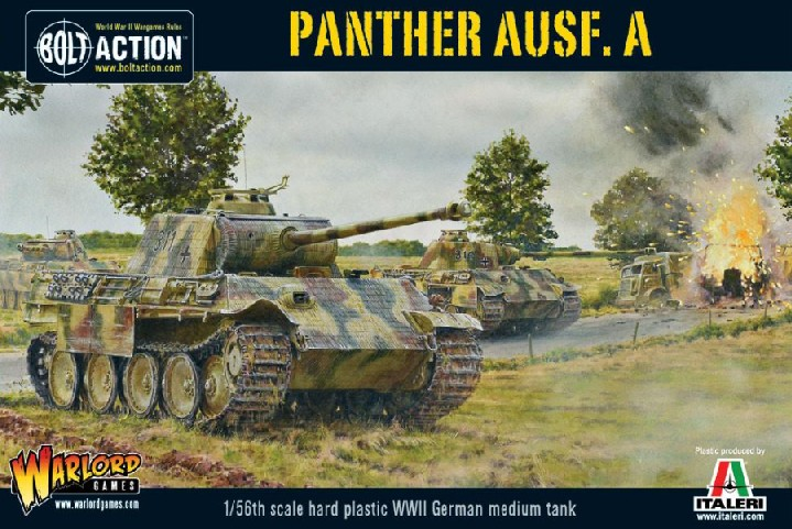 Warlord Games 28mm Bolt Action: WWII Panther Ausf A German Medium Tank (Plastic)
