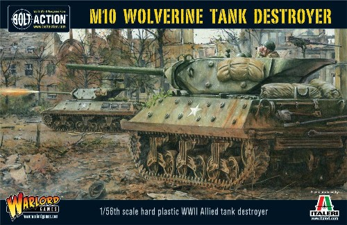 Warlord Games 28mm Bolt Action: WWII M10 Wolverine Allied Tank Destroyer (Plasti