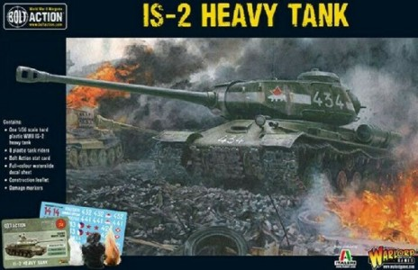 Warlord Games 28mm Bolt Action: WWII IS2 Soviet Heavy Tank (Plastic)