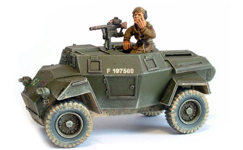 Image 0 of Warlord Games 28mm Bolt Action: WWII Humber British Scout Car w/Brigadier Joe Va