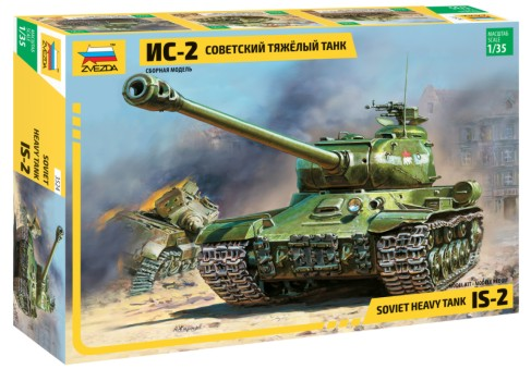 Zvezda 1/35 JS2 Soviet Heavy Tank