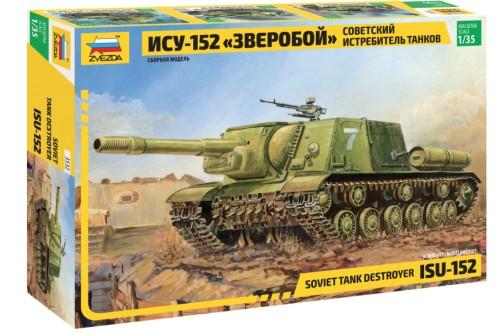 Zvezda 1/35 ISU152 Soviet Tank Destroyer
