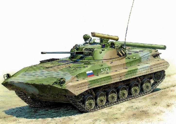 Zvezda 1/35 BMP2 Russian Infantry Fighting Vehicle