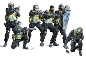 Zvezda 1/35 Russian Special Force Unit Vimpel (6)