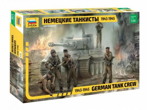 Zvezda 1/35 German Tank Crew 1943-45 (5)