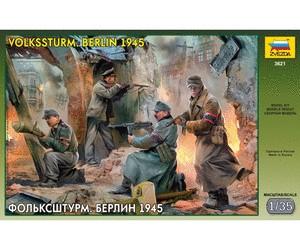 Zvezda 1/35 German Volkssturm Berlin 1945 Soldiers (4)