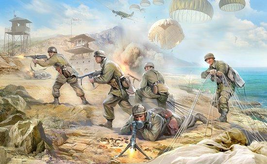 Zvezda 1/35 German Paratroopers 1939-42 (5)