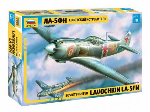 Zvezda 1/48 LA5 FN Soviet Fighter