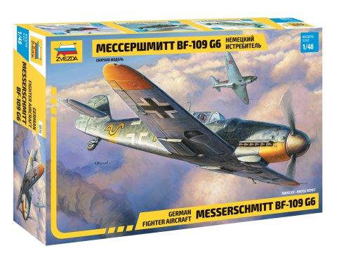 Zvezda 1/48 Bf109G6 German Fighter