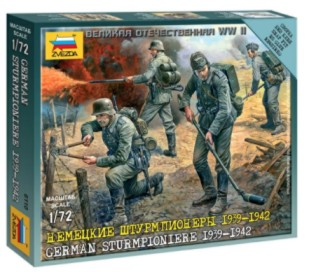 Zvezda 1/72 Sturmpionier 1939-42 (4) (Snap)