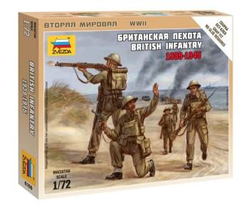 Zvezda 1/72 British Infantry 1939-45 (5) (Snap)