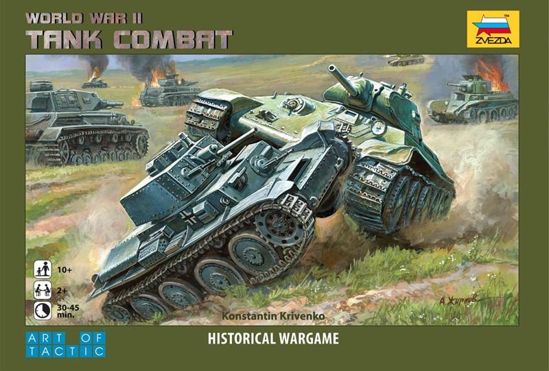 Zvezda WWII Tank Combat Warfare Board Game Expansion Set