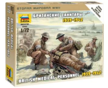 Zvezda 1/72 British Medic Team (Snap)
