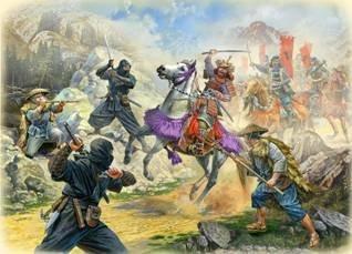 Zvezda Samurai Battles Ninja Attack Warfare Board Game Expansion Set