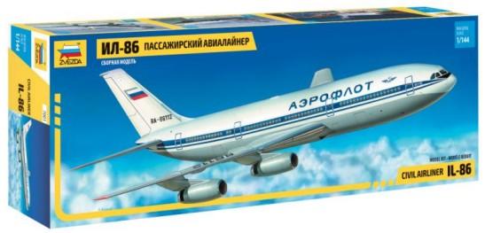 Zvezda 1/144 IL86 Civil Airliner