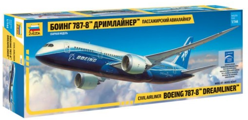 Zvezda 1/144 B787-8 Dreamliner Civil Airliner