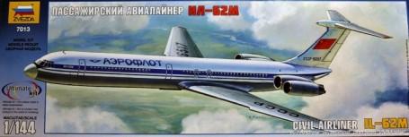 Zvezda 1/144 IL62M Civilian Airliner