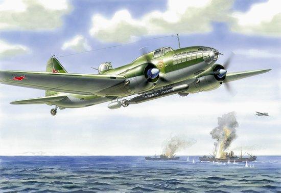 Zvezda 1/72 IL4T Soviet Torpedo Bomber (Ltd Edition)
